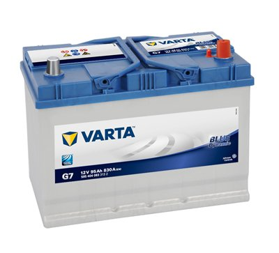 АКУМУЛАТОР VARTA BLUE DYNAMIC G7 95AH