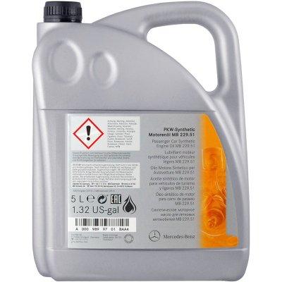 MERCEDES OIL 229.52 5W-30 5L