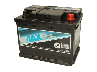 АКУМУЛАТОР 4MAX BATTERIES 60AH R+