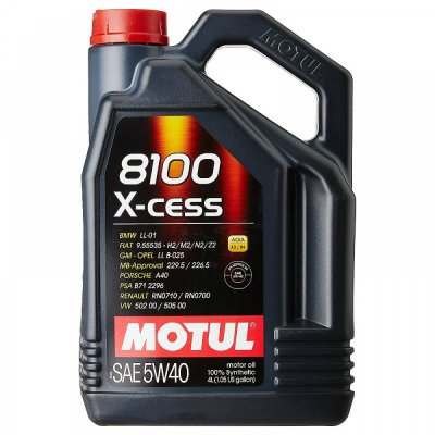 MOTUL 8100 X-CESS 5W-40 4L