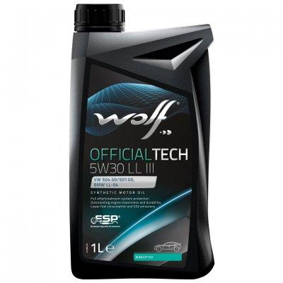 WOLF OFFICIALTECH 5W-30 LL III 1L