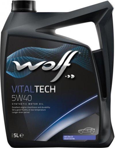 WOLF VITALTECH 5W-40 5L