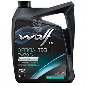 WOLF OFFICIALTECH 5W-30 C4 4L
