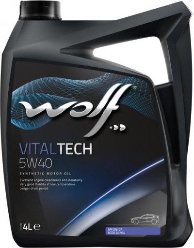 WOLF VITALTECH 5W-40 4L
