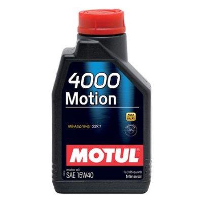 MOTUL 4000 MOTION 15W-40 1L