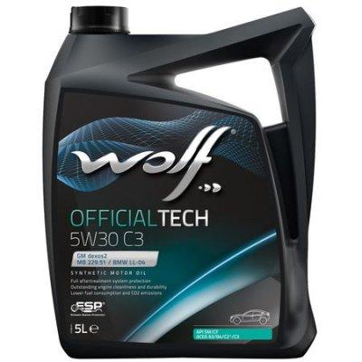 WOLF OFFICIALTECH 5W-30 C3 5L