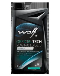 WOLF OFFICIALT 75W-140 LS GL5 1L