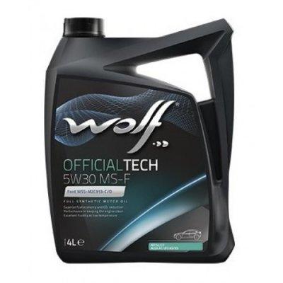 WOLF OFFICIALTECH 5W-30 MS-F 4L