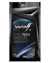 WOLF VITALTECH 5W-40 GAS 1L