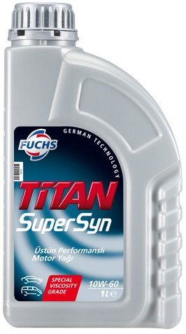 TITAN SUPERSYN 10W-60 1L