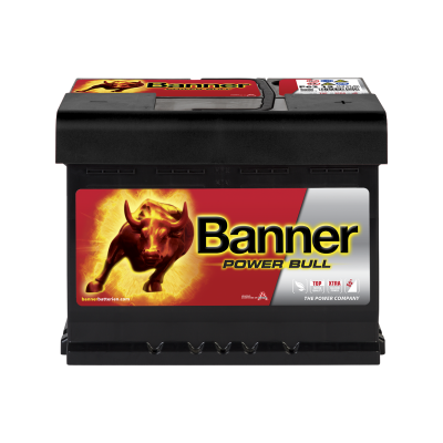 BANNER POWER BULL 62AH 550A R+