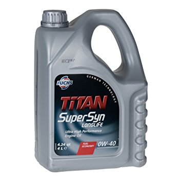 TITAN SUPERSYN LONGLIFE 0W-40 4L