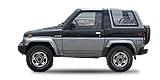 DAIHATSU ROCKY Hard Top закрит автомобил с висока проходимост (F7, F8 2.0 4x4