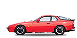 PORSCHE 944 кабриолет 2.5 Turbo