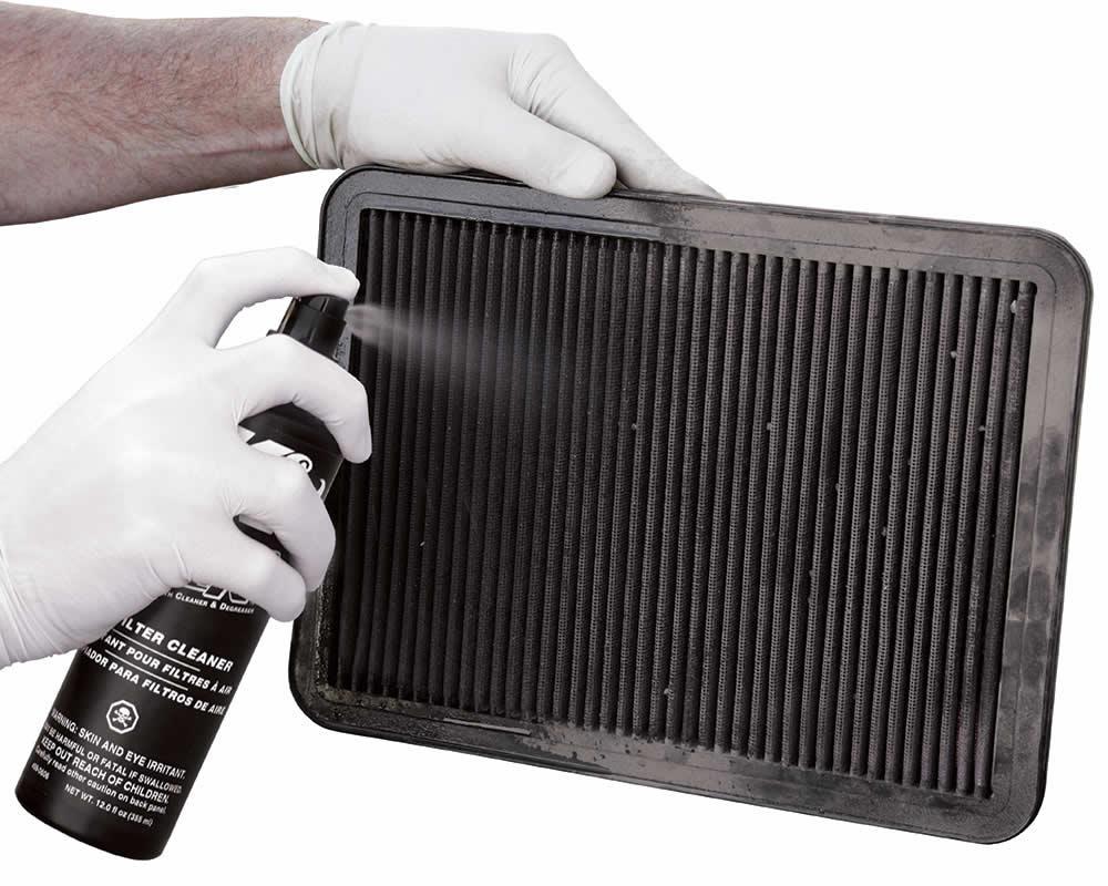 как се почиства въздушен филтър